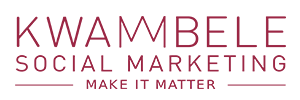 Kwambele Social Marketing Logo